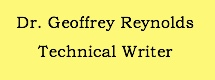 Technical writer cover